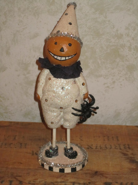 Smiling Pumpkinman Figure