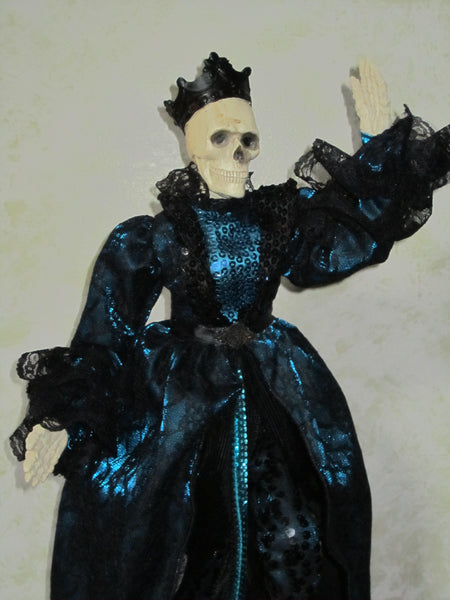 Dance Macabre Skeleton Doll