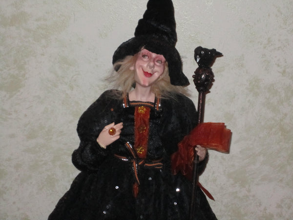 Drusilla Whimsical Witch Doll