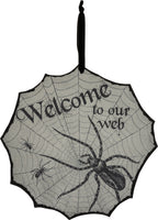 Welcome to our Web Wall Sign