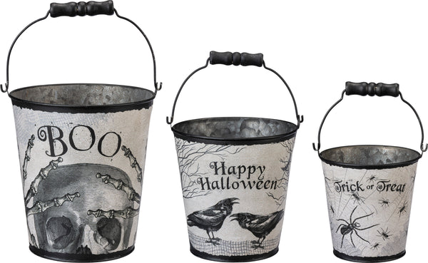 Halloween Bucket Set
