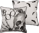 HUGE Skeleton BOO Pillow