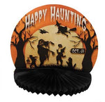 Happy Haunting Rosette Centerpiece