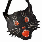 Black Cat Tick or Treat Bag Large - Bethany Lowe