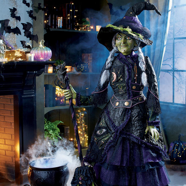 Brunhilda Witch Life Sized Doll - Katherine's Collection