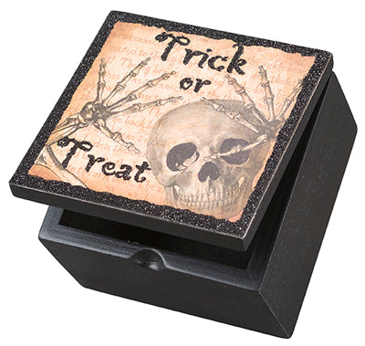 Trick or Treat Skeleton Box