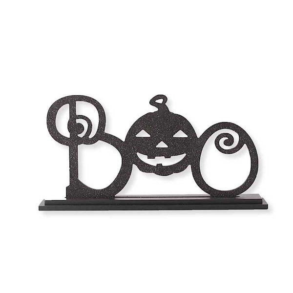 BOO Vintage laser-cut Sign