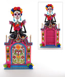 Day of the Dead Lady Cabinet - Katherine's Collection