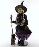 Brunhilda Witch 24 Inch Doll - Katherine's Collection