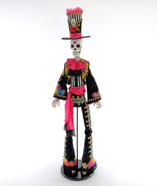 Diego Caballerio Doll - Katherine's Collection - Day of the Dead