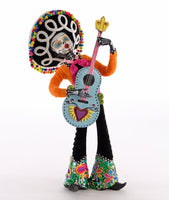 Day of the Dead Guitar Player Doll - Katherine's Collection