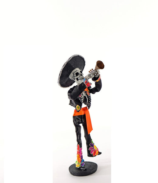 Day of the Dead Skeleton w/ trumpet - Katherine's Collection