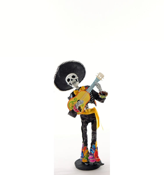 Day of the Dead Skeleton w/ guitar - Katherine's Collection