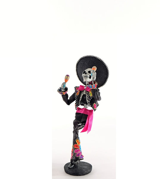 Day of the Dead Skeleton w/ maracas - Katherine's Collection