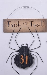 Trick-or-Treat Spider Sign