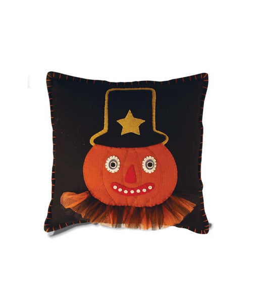 Pumpkinhead Pillow - Bethany Lowe