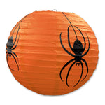 Spider Paper Lanterns  - Set of 3