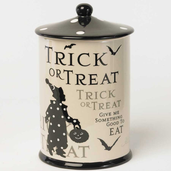 Trick or Treat Cookie Jar