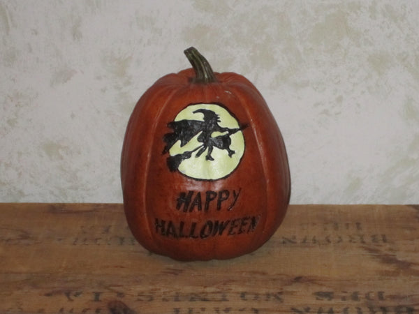 Witch Full Moon Pumpkin