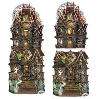Haunted House Cut-out Set