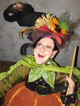 Smirkey Naturina  Witch Whimsical Doll