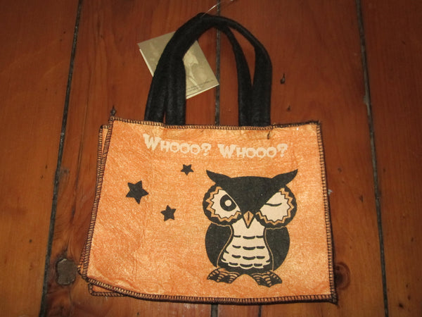 Owl Mini Trick or Treat Bag - Bethany Lowe