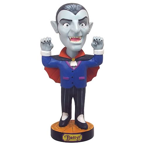 Dracula Vampire Bobble Head - Halloween