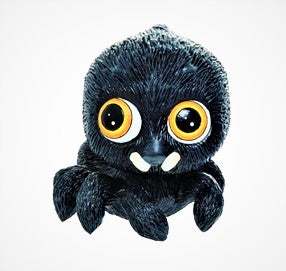 Cute Little Spider Figure - Yellow Eyes