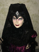 Wicked Sorceress - XL Whimsical Witch Doll