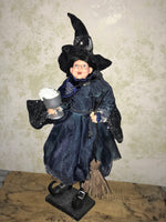 Gretta Moonlitte - Whimsical Witch Doll