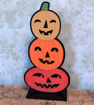 Pumpkin Stack Tabletop sign