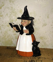 Little Haggy Witch Casting a Spell Figure