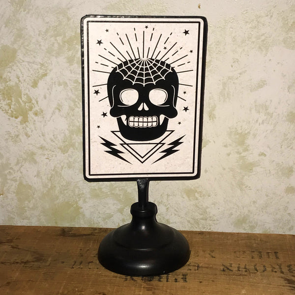 Fortune Teller Metal tabletop sign