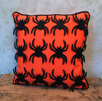 Spider Halloween Pillow