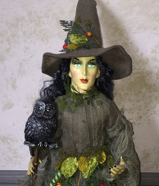 Belladonna The Nature Witch - Whimsical Doll