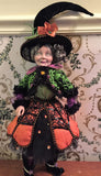 Pumpkin Patch Witch Doll - Katherine's Collection