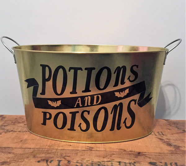Potions & Poisons Drink / Candy Container