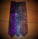 Spiderweb Men's Necktie