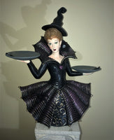 Glamorous Witch Tabletop Treat Holder