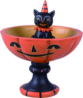 Black Cat Treat Stand