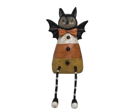 Candy Corn Bat Figure