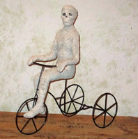 Mummy on Tricycle Figure