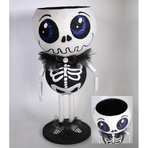 Skeleton Candy Container - Katherine's Collection