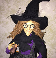 Tilly the Tower Witch Doll