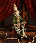 Clown On Drum Doll- Bethany Lowe
