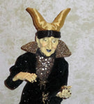 Wicked Queen Whimsical Witch Doll - Halloween