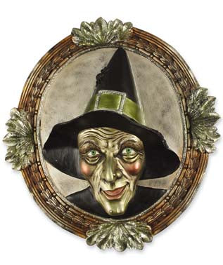 Wicked Witch Mirror display - Bethany Lowe - Halloween