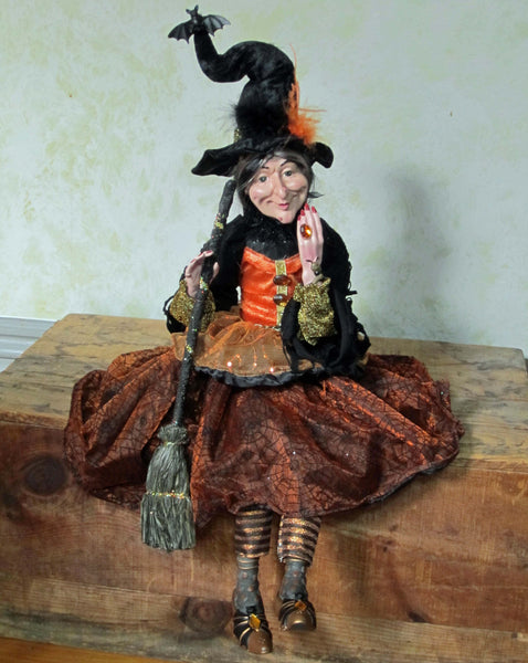 Enchantra Whimsical Witch Doll