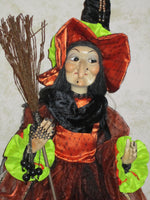 Aggie the Hag Whimsical Witch Doll