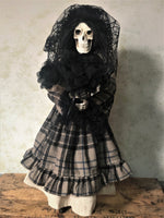 Sylvia Nightshade the Skeleton Bride Doll